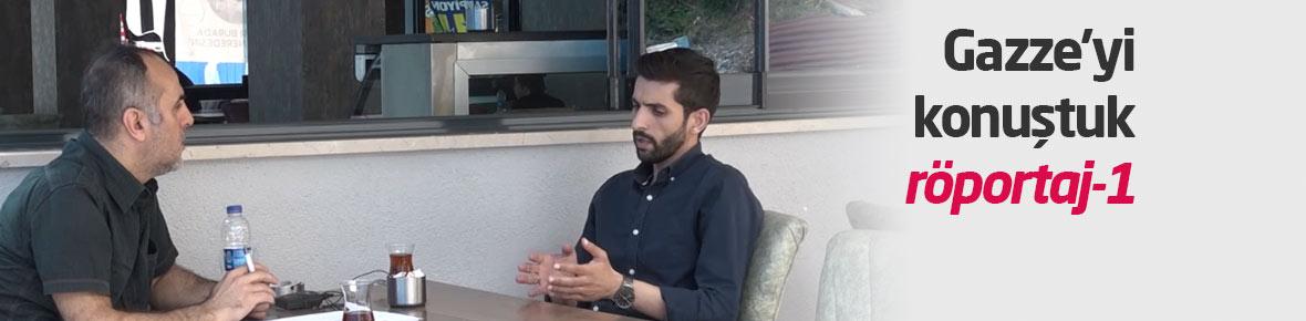 Gazze'li Tevfik Alhams ile röportaj-1