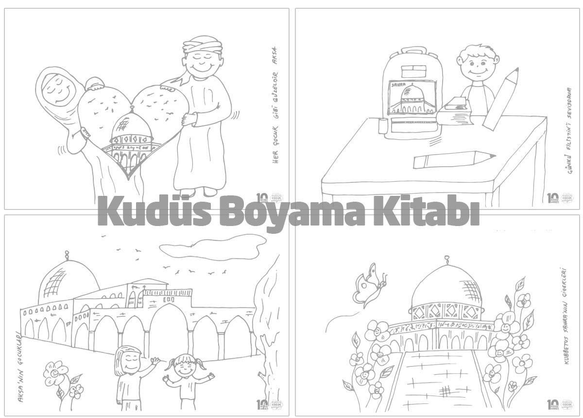 kudüs boyama kitabı